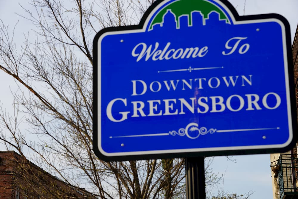 Stop 8: Greensboro, North Carolina